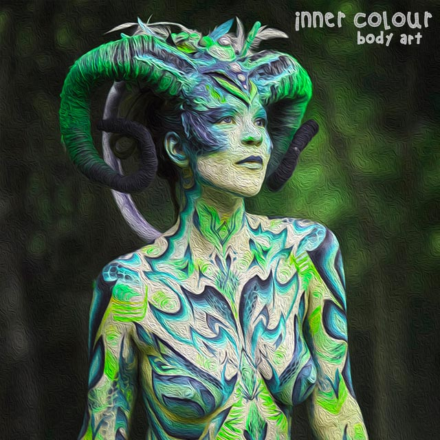 Nature Body Painting | Inner Colour Face Painting | Face Painting Melbourne