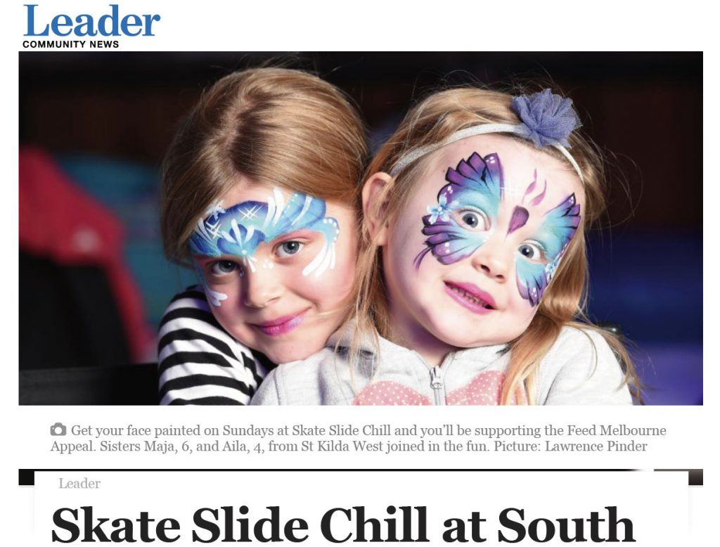Published in the Leader Newspaper, Skate Slide Chill at the Common Man South Wharf