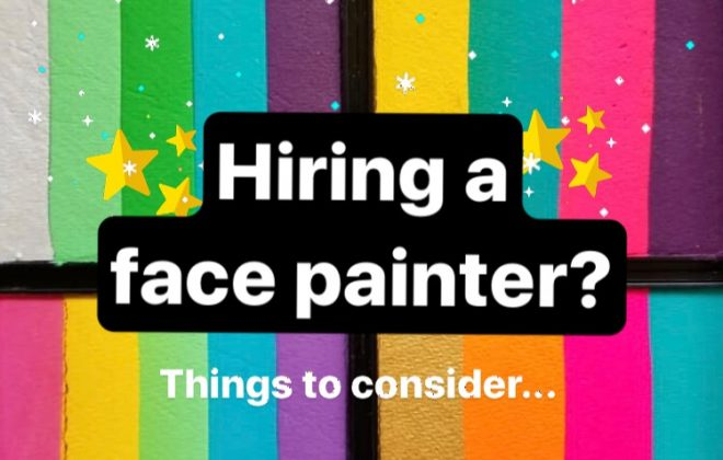 choosing a face painter - face painting blog