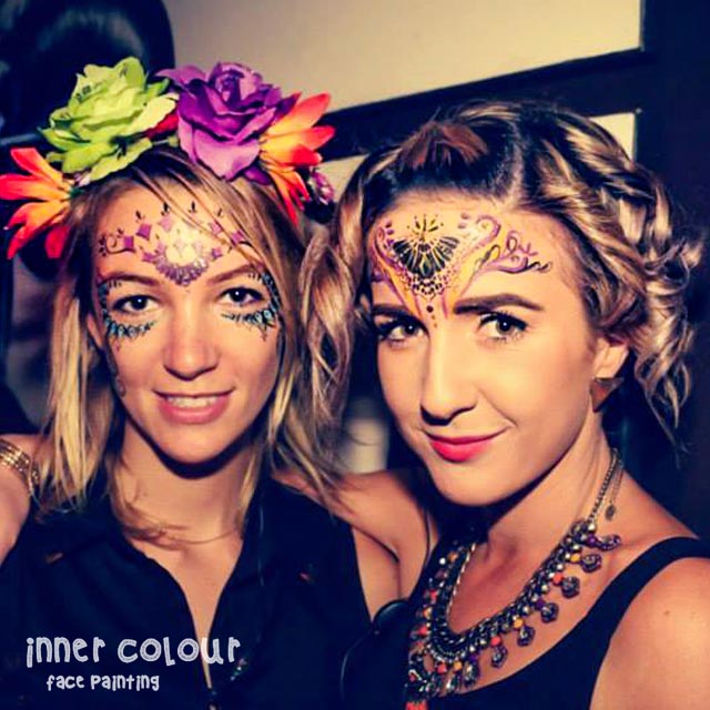 Adult Face Paint | Inner Colour Face Painting | Face Painting Melbourne