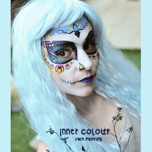 Doll Face Paint | Inner Colour Face Painting | Face Painting Melbourne