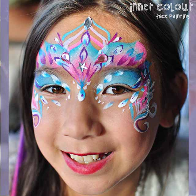 Fairy Face Paint | Inner Colour Face Painting | Face Painting Melbourne