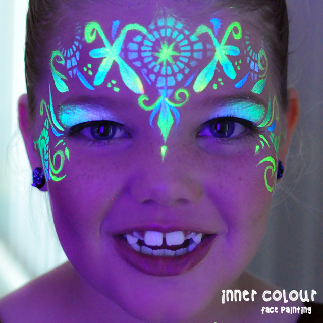 Princess Face Paint | Inner Colour Face Painting | Face Painting Melbourne